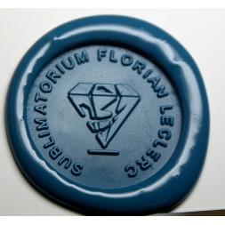 Tampon à cacheter Pompes funèbres avec Logo (Demande de devis)
