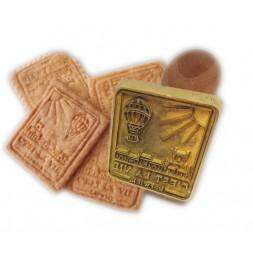 tampon personnalisé pour les biscuits