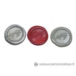 Sceaux Adhésifs Personnalisés Initiales