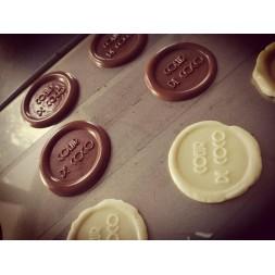 Tampon à marquer le chocolat - Demande de devis