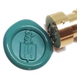 Tampons personnalisés à cacheter la cire, bagues cachet et cire à cacheter