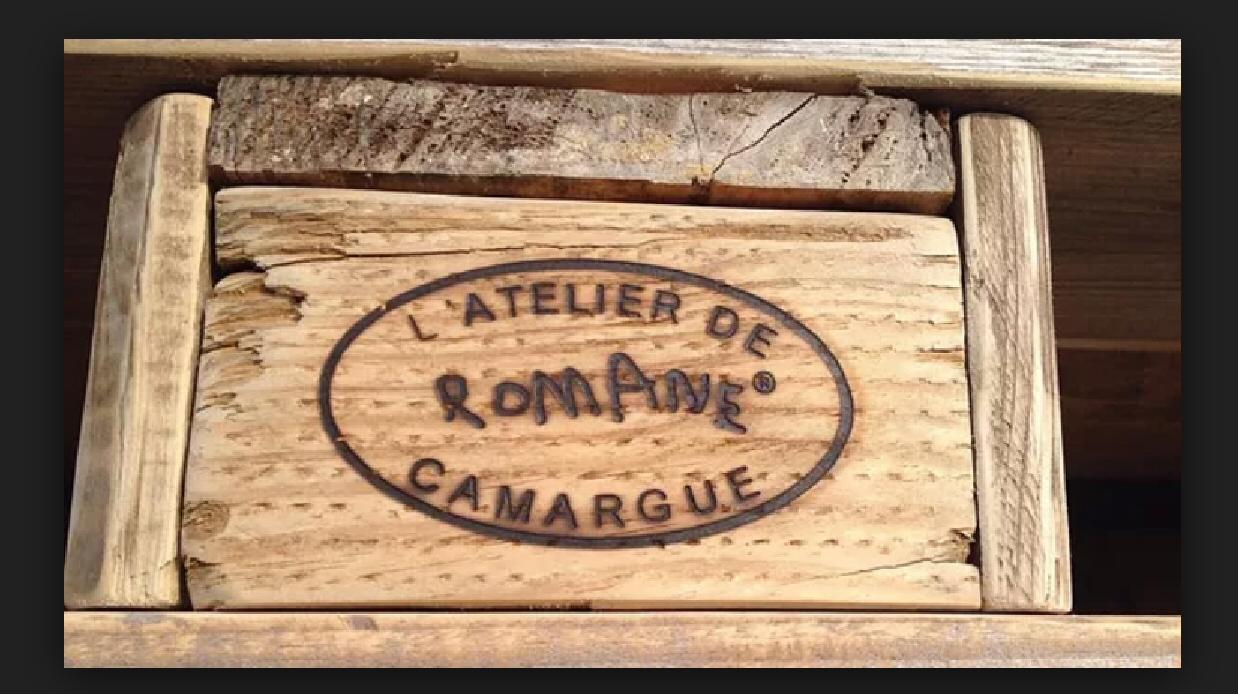 Marquage sur bois fer sur mesure