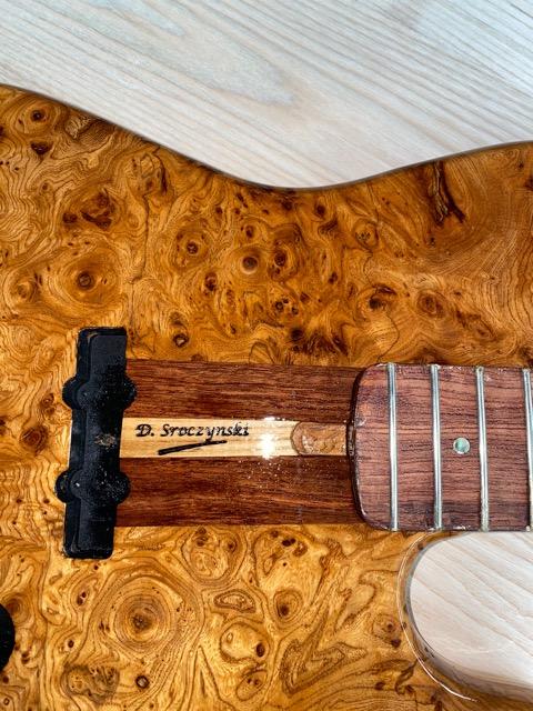 Fer à marquer le bois pour luthier