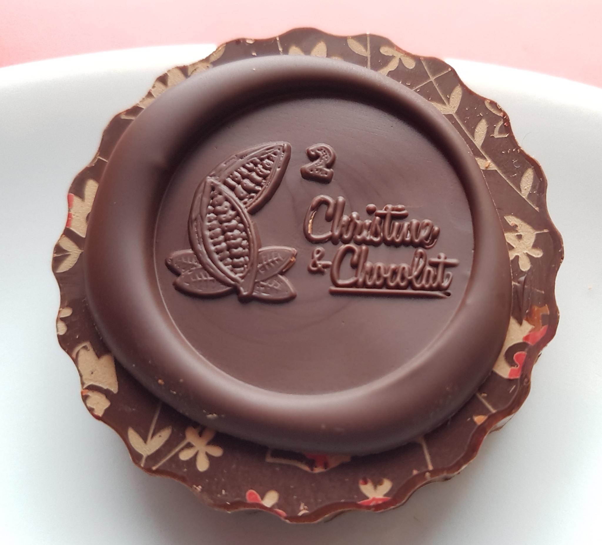 Tampon pour le chocolat garanti sans contact alimentaire sans plomb et sans nickel